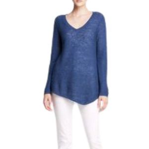 Eileen Fisher Knit Sweater V-Neck Linen / Cotton